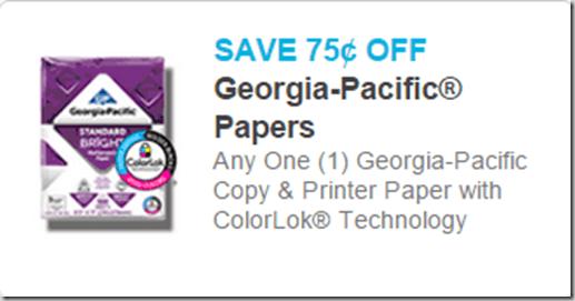 Georgia pacific coupons