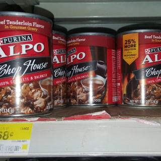 Alpo Dog Food Just $.60 at Walmart!