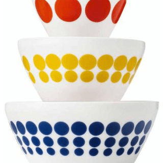"Vintage Charm"" Inspired by Pyrex 3-Piece Mixing Bowl Set Just $25 At Walmart! Reg. $30!"