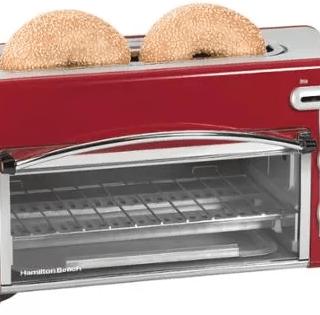 Hamilton Beach Toastation 2-in-1 2-Slice Toaster & Oven Just $25 At Walmart! Reg. $50!