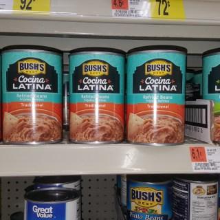 FREE Bush's Cocina Latina With $0.02 Overage At Walmart!