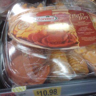 Hormel Party Tray 28oz Just $7.98 At Walmart!