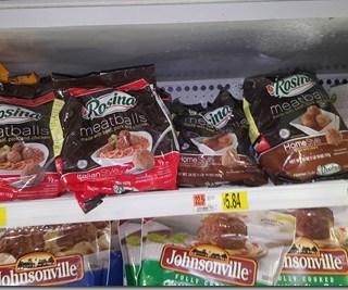 Save $1.50 on Rosina Meatballs at Walmart!