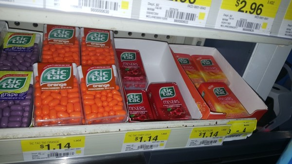 FREE Tic Tac Mixers With Overage At Walmart!