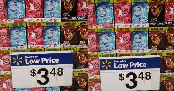 New Printable Coupon For Count Chocula, Franken Berry, Or Boo Berry Cereal And Walmart Matchup!