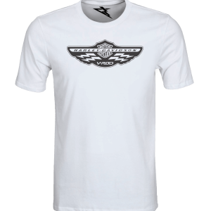 T-Shirt HARLEY DAVIDSON V-ROD CLUB WHITE