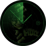 RADAR HULK WATCH FACE FOR ANDROID SMARTWATCH