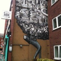 Art: PHLEGM // Nr Devonshire Green, Sheffield