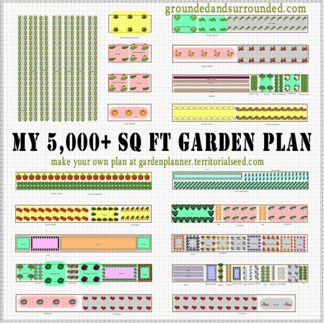 Vegetable garden plans zone 6b for Garden design plans zone 6
