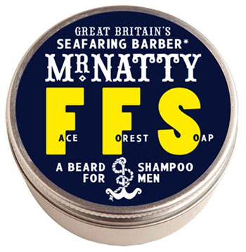 Photo of Mr Natty Beard Soap.