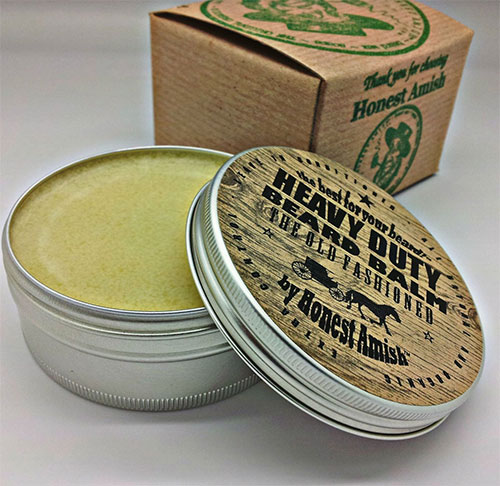Photo of a nice big tub of heavy duty beard balm.