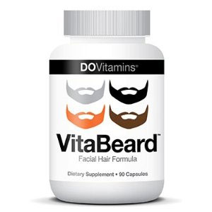 A photo of vitabeard beard vitamins