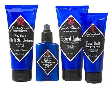 Beard essentials kit.