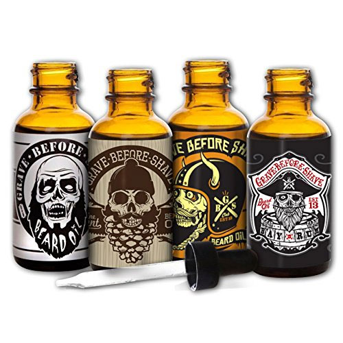 Beard oil pack Grave Before Shave