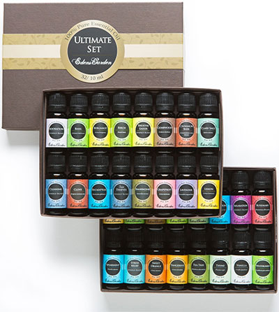 A photo of the essential oil sampler set.