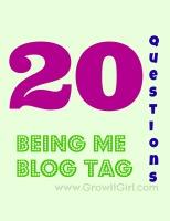 Being Me Blog Tag