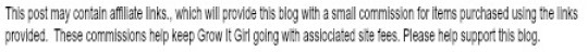 affiliate disclosure statement