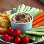 chickpea yogurt dip