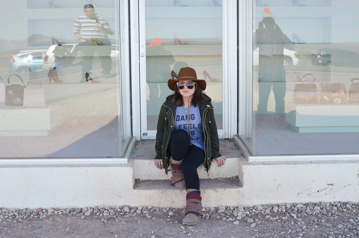 middle of nowhere: prada marfa