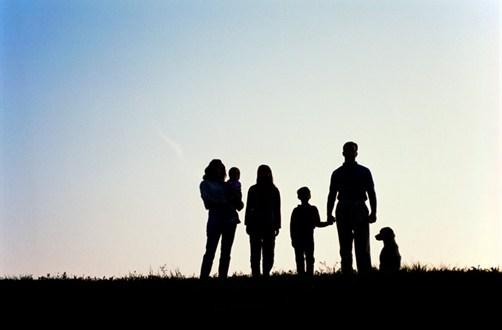 obitelj-silueta