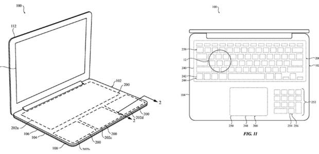 Apple patenta un ordenador sin teclas