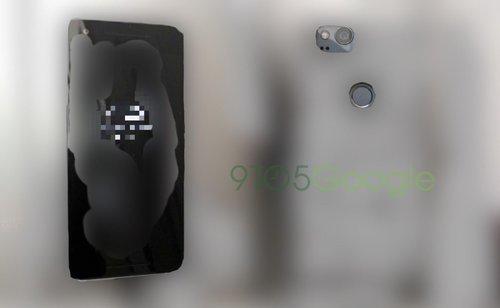 Zamaskowana grafika Pixel 2/ Fot. 9to5Google