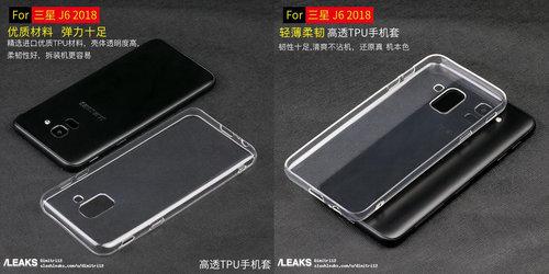 Akcesoria dla Galaxy J6 / fot. Slashleaks