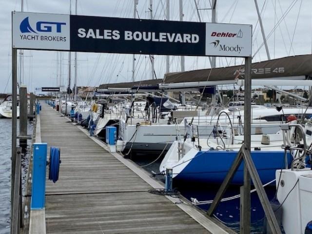 Verkoopboulevard GT Yacht Brokers Port Zélande goed gevuld