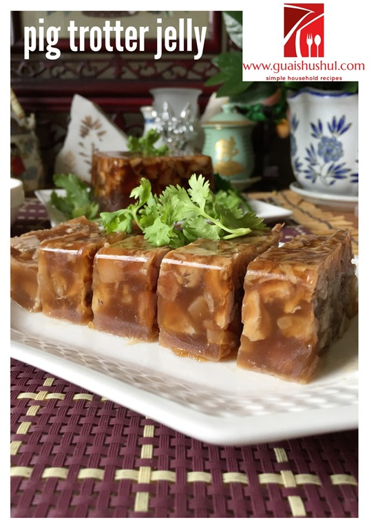 how to make pig trotter jelly
