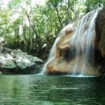 Finca El Paraíso Cascada de Agua Caliente, El Estor, Izabal Guatemala