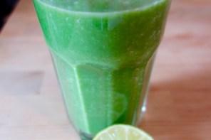 Grüner Smoothi