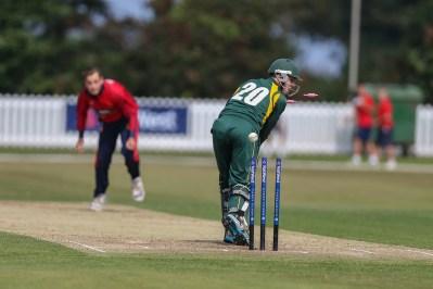 2014 Martin bowled
