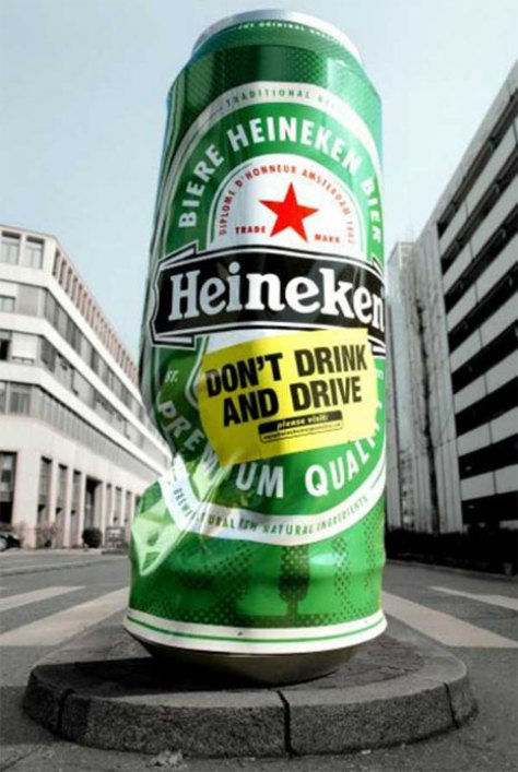 Guerrilla Marketing Voorbeeld 47 Heineken Can