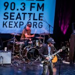 2012.09.02: M. Ward @ Bumbershoot - KEXP Music Lounge, Seattle,