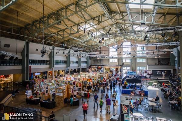 2013.08.31: Flatstock @ Bumbershoot - The Armory, Seattle, WA