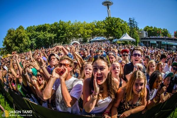 2013.08.31: Fans @ Bumbershoot -  TuneIn Stage, Seattle, WA