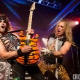The LA-based glam metal band kicks off their 'All You Can Eat' tour in the Emerald City
