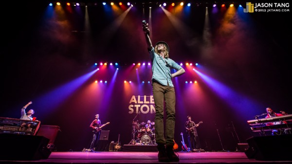 2012.12.07: Allen Stone @ The Paramount Theatre, Seattle, WA