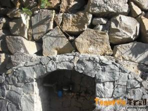 Punto de agua en Chamorga