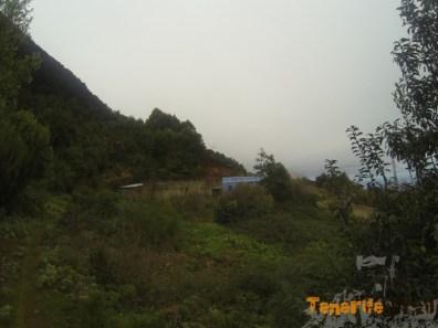 Llegada a casa al lado carretera vieja Pico del Inglés