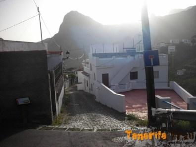 Barrio de Portutal (por donde subirias si bajas a Taganana)