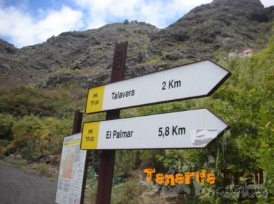 Talavera a dos km PR 55