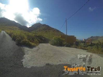 Pista (estamos en la zona del barranco de San Andrés)