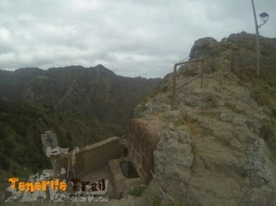 Punto de agua destino al Roque de Taborno (de frente)