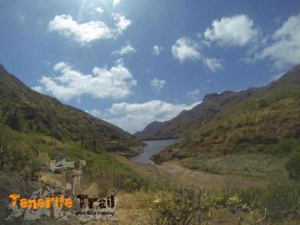 Detalle presa Tahodio según venimos por el Tomadero