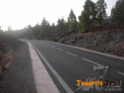 Carretera a la que salimos