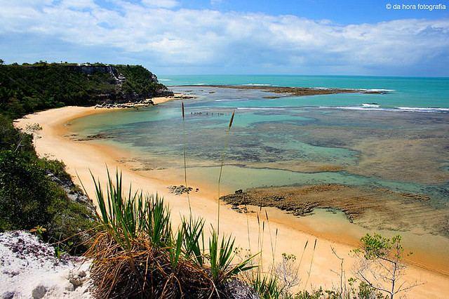 praia espelho