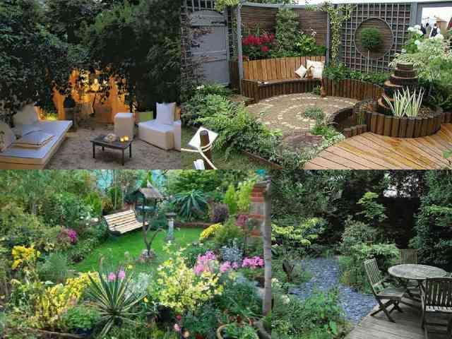 12 idee per giardini di piccole dimensioni guida giardino for Arredare i giardini