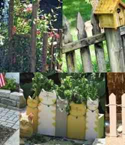 Steccati rustici ed originali: 12 idee fai da te
