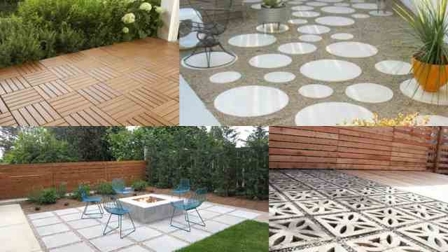 pavimentazione giardino outdoor : ... soluzioni per la pavimentazione di una zona del prato Guida Giardino